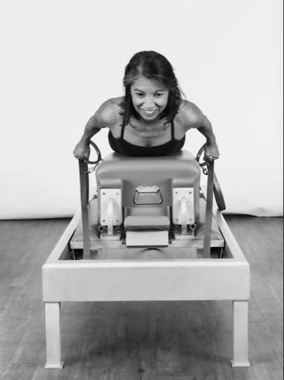 Romana's Pilates Instructor on Gratz Reformer in Austin, TX